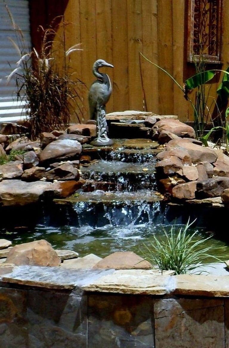 44+ Beauty Small Backyard Waterfall Design Ideas ...