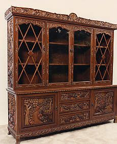 Hand Carved Vietnamese Furniture Dining Room Set Dining Table