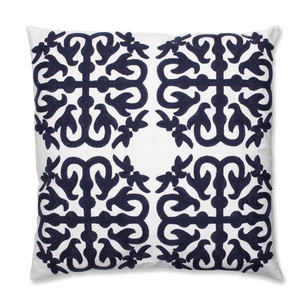 decorative pillow for com one navy throw size and flowers craneandcanopy great coral bedding pin pillows site