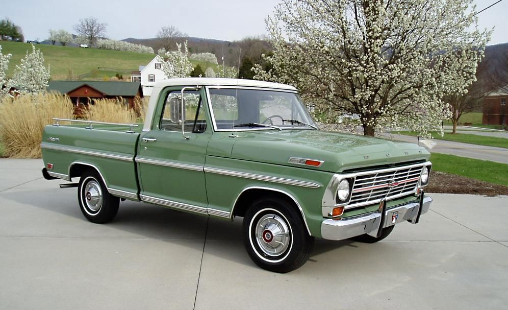 1969 Ford F100 Field Of Dreams 1969 Ford F100 Ford Pickup