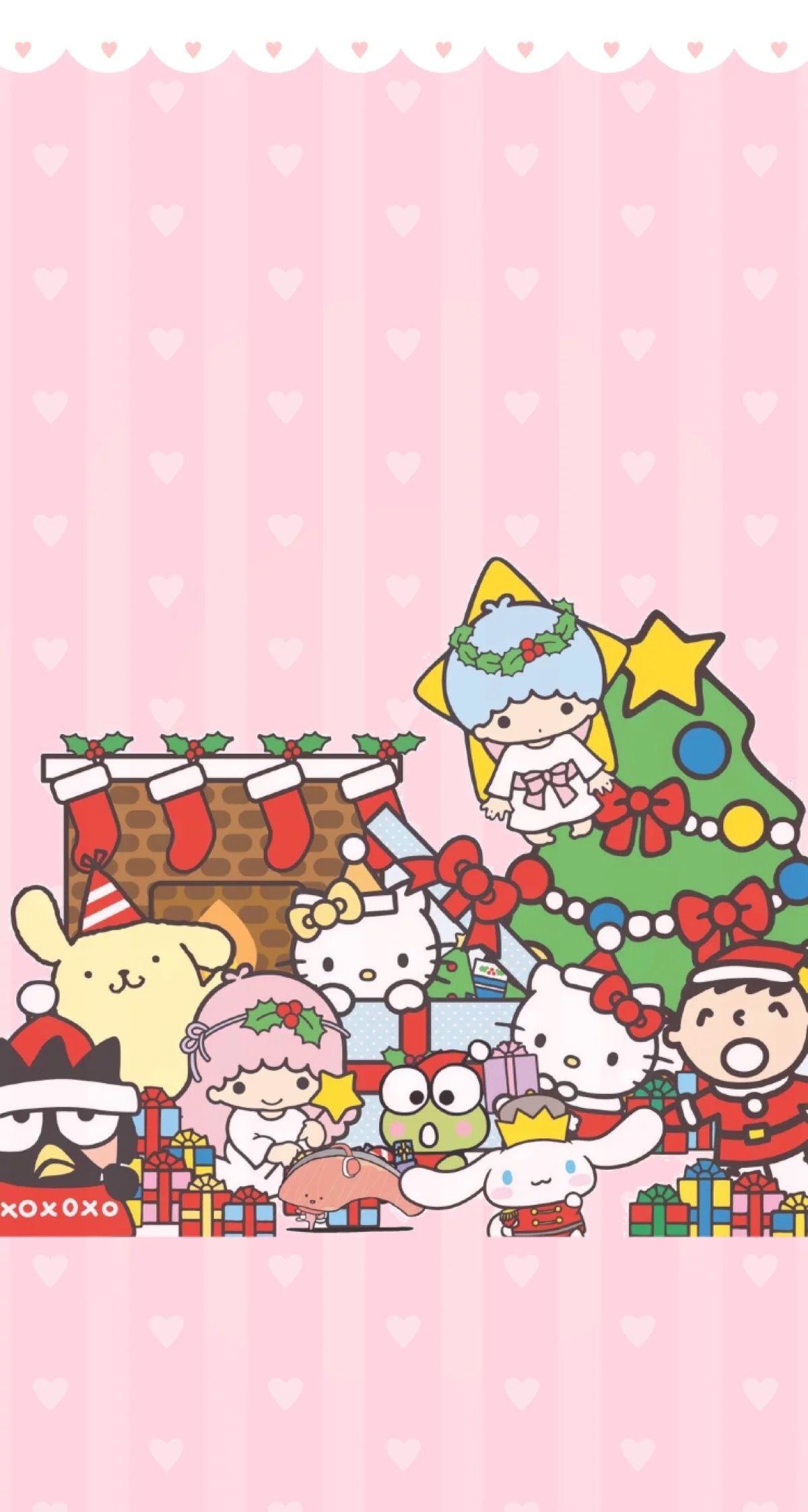 Sanrio Hello Kitty Wallpaper Hello Kitty Christmas Hello Kitty