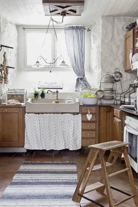 Acogedora Casa Estilo Shabby con Recursos Naturales | casita ...