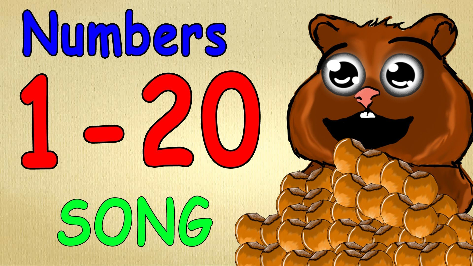 Numbers Song 1 20 For Children