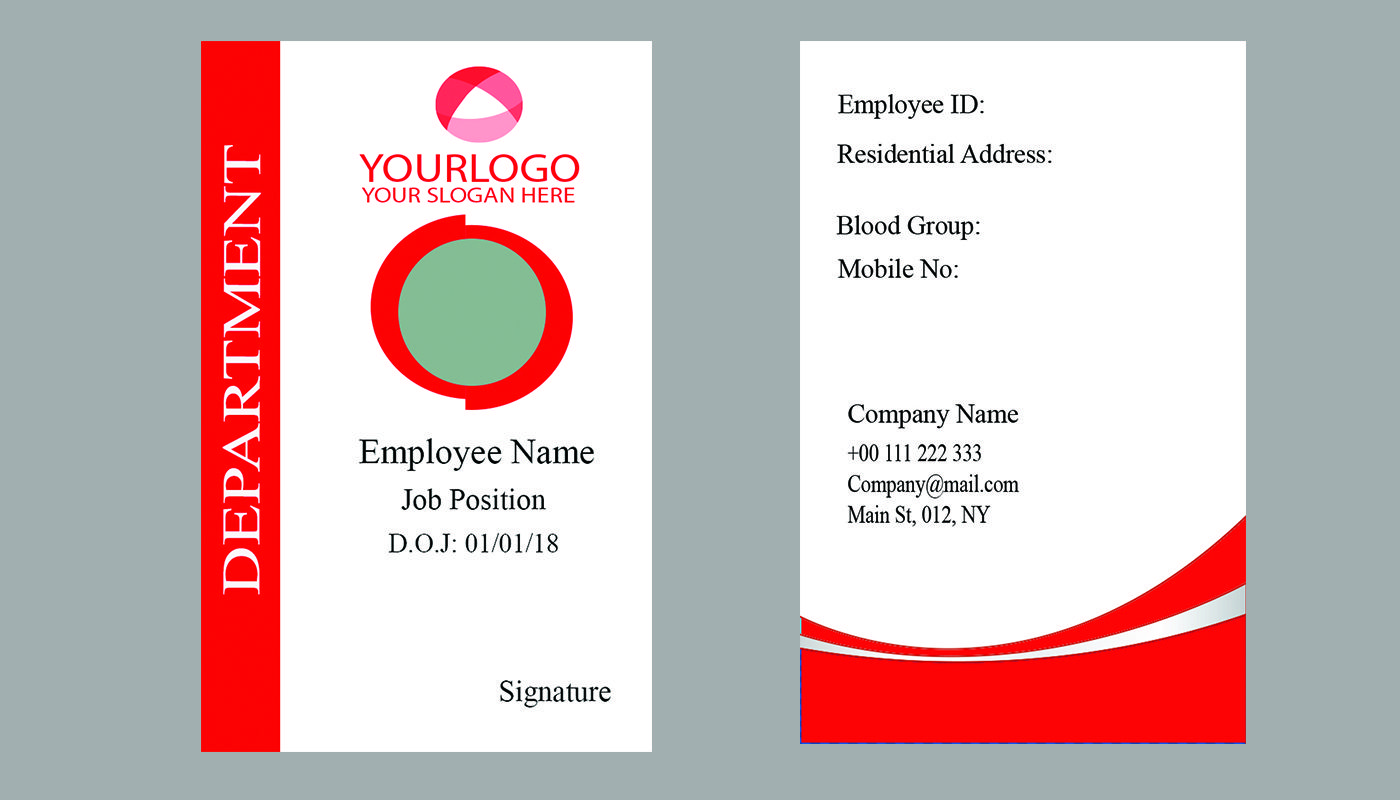 Professional Id Card Design For You Visit Us Yobha In