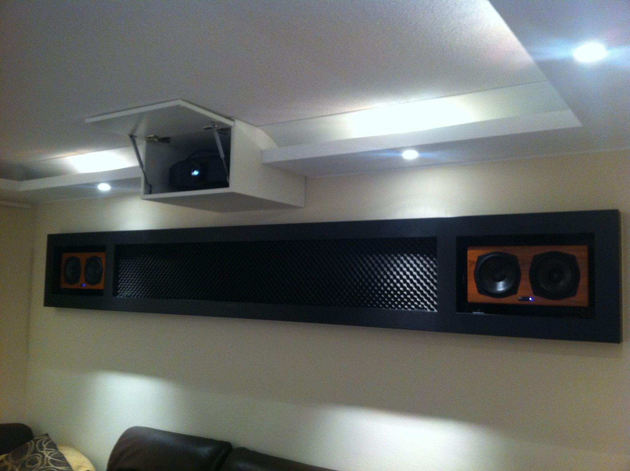 beamer lautsprecher im heimkino pinterest beamer heimkino und lautsprecher. Black Bedroom Furniture Sets. Home Design Ideas