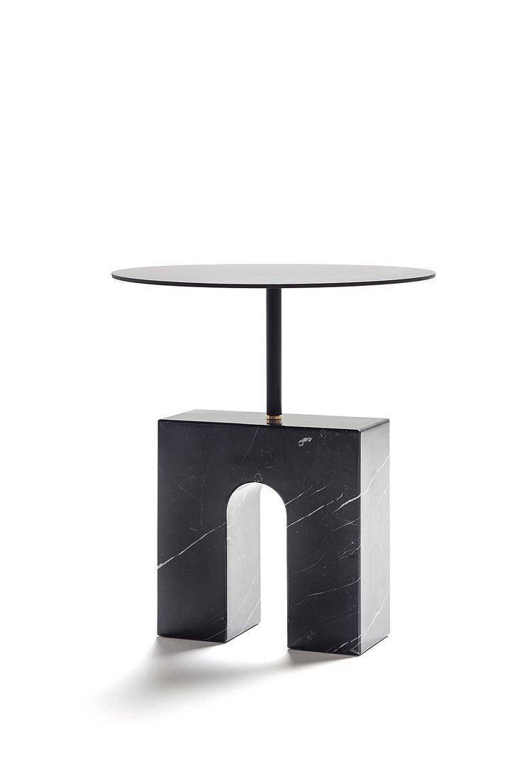 Triumph Accent Table In Marquina Marble D Visit Canvas Art Designers Clic Here Design Living Rooms