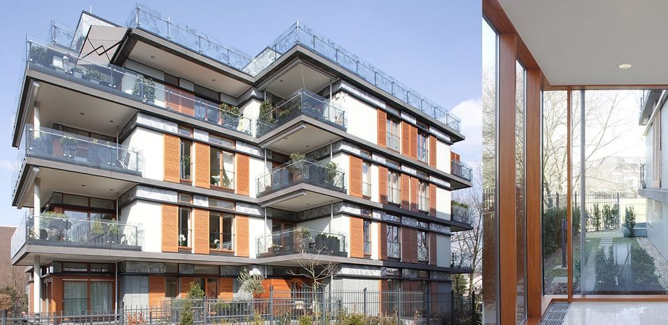 Terraced Flats Düsseldorf | ksg architekten