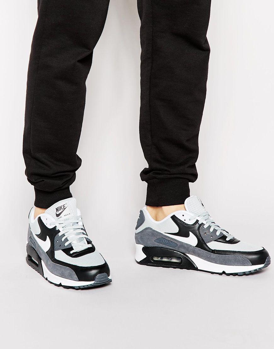 vente dernière Nike Air Max 90 Évènements Mens Gris Essentiels délogeant Ix1p6Yhy