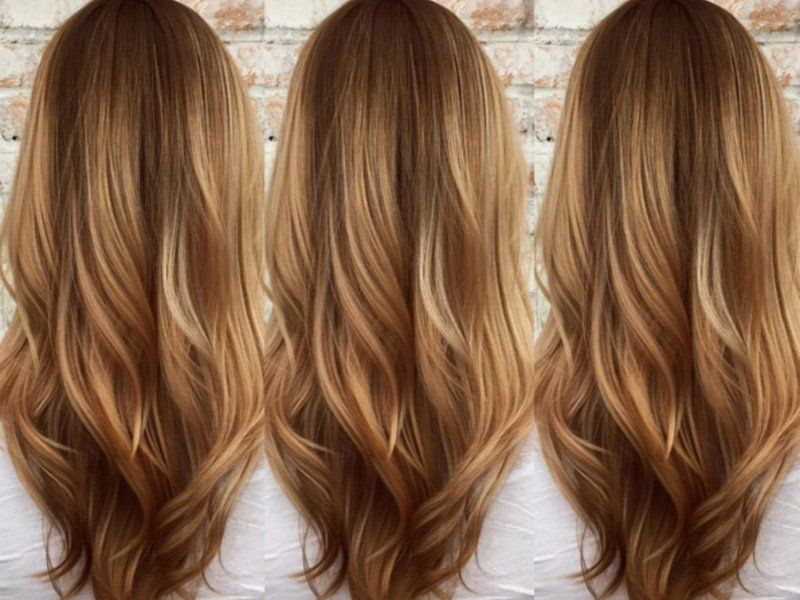 Butterscotch blond die neue trendhaarfarbe f r den sommer for Karamell haarfarbe