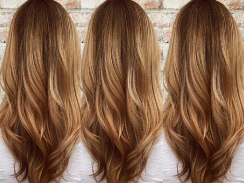 Übertönen blonde strähnen Wunderschön Frisur