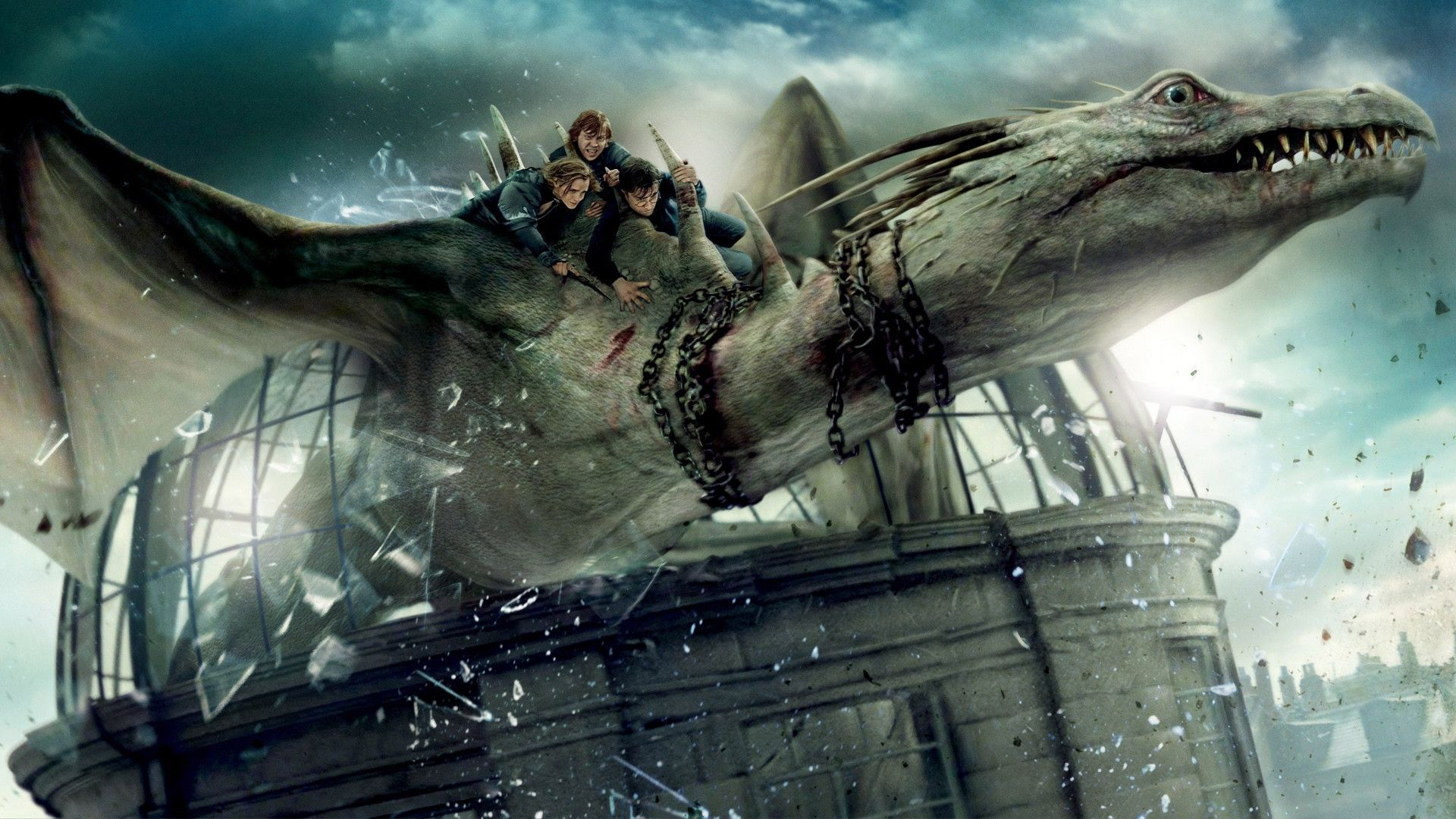 1920x1080 7 Harry Potter Wallpaper7 600x338 Harry Potter Dragon Fantastic Beasts And Where Harry Potter Poster