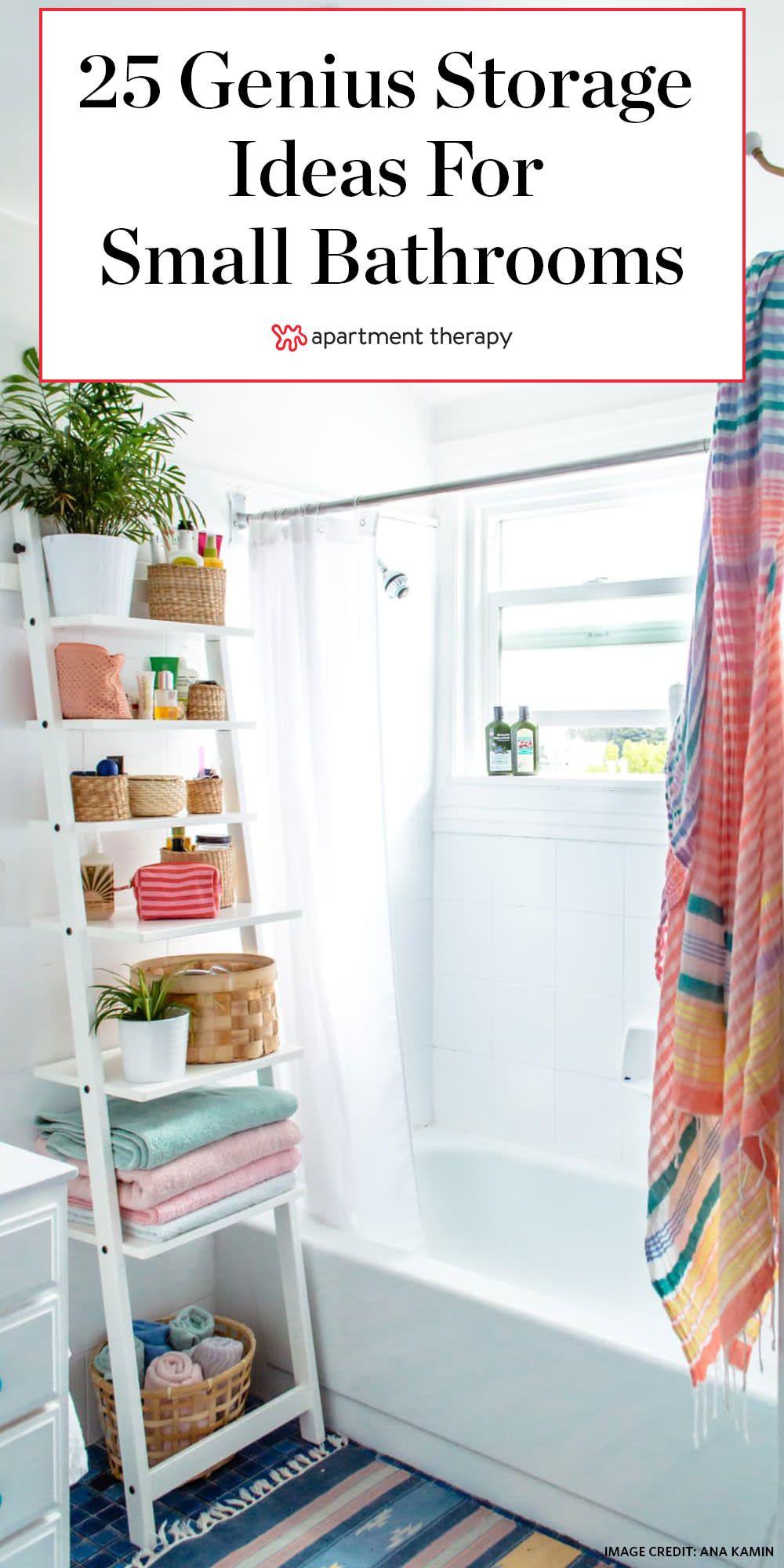 Photo of 25 Genius Design & Storage Ideas for Your Small Bathroom