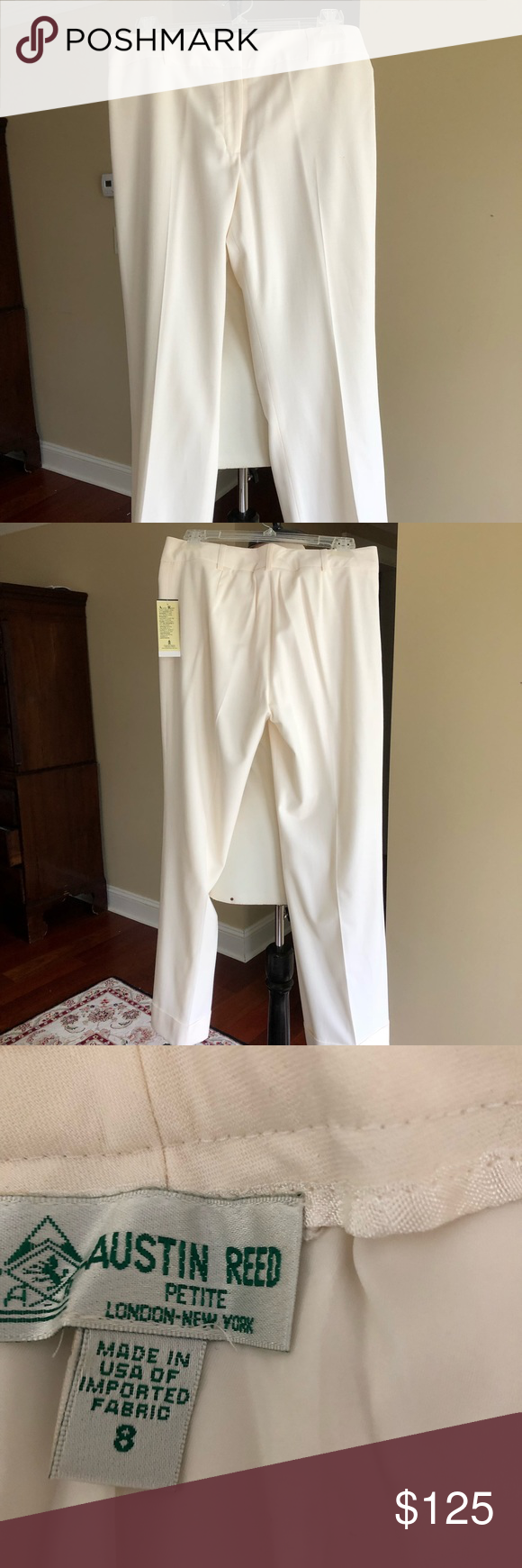 Antique White Austin Reed Trousers Clothes Design Austin Reed Fashion Design