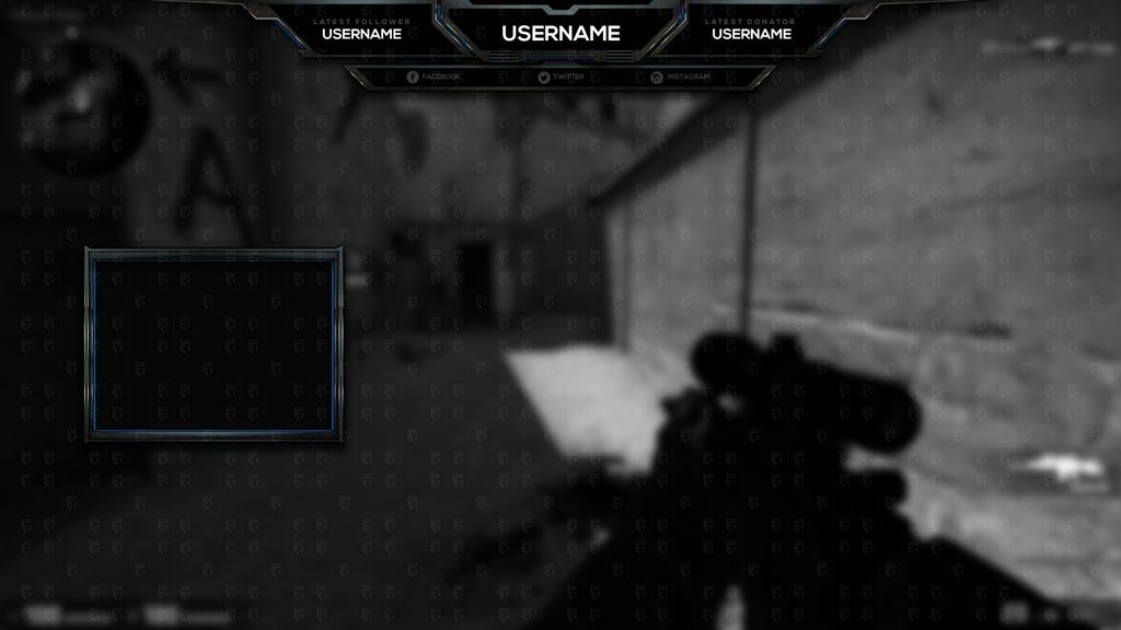 free twitch overlay counter strike go optimus esports templates