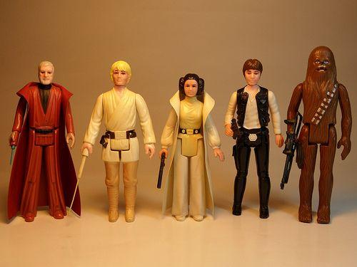 I Miss My Childhood: Vintage Star Wars: Kenner Action Figures