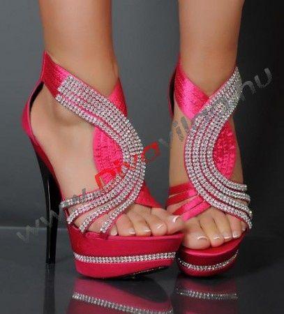 Sexy Pink Heels - Qu Heel