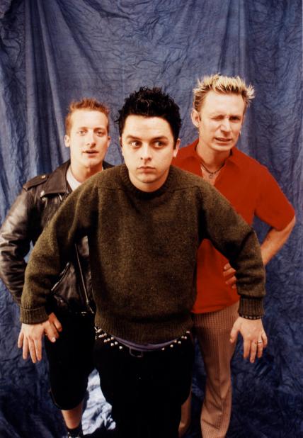 Green Day 2000 Tre, Billie, an...