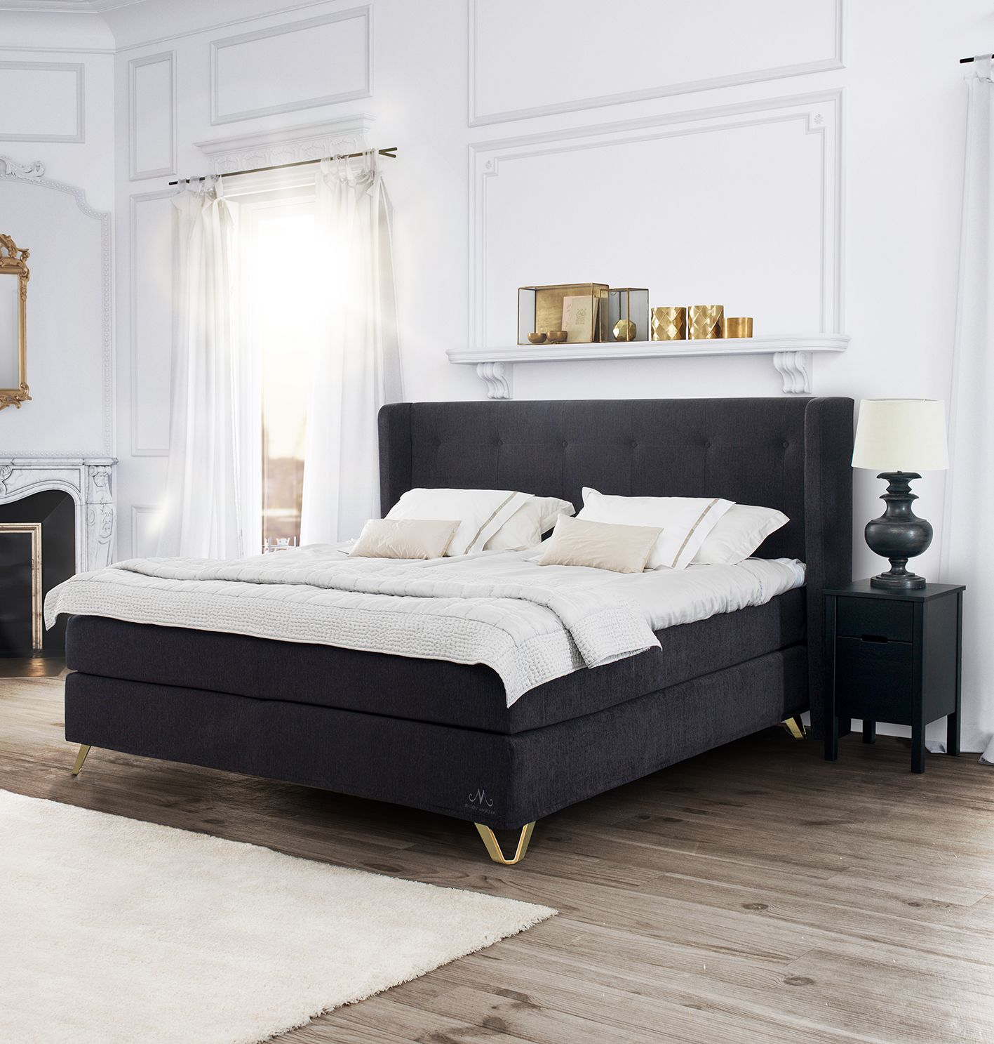Jensen Majestic Continental bed set - pure perfection, balance and ...