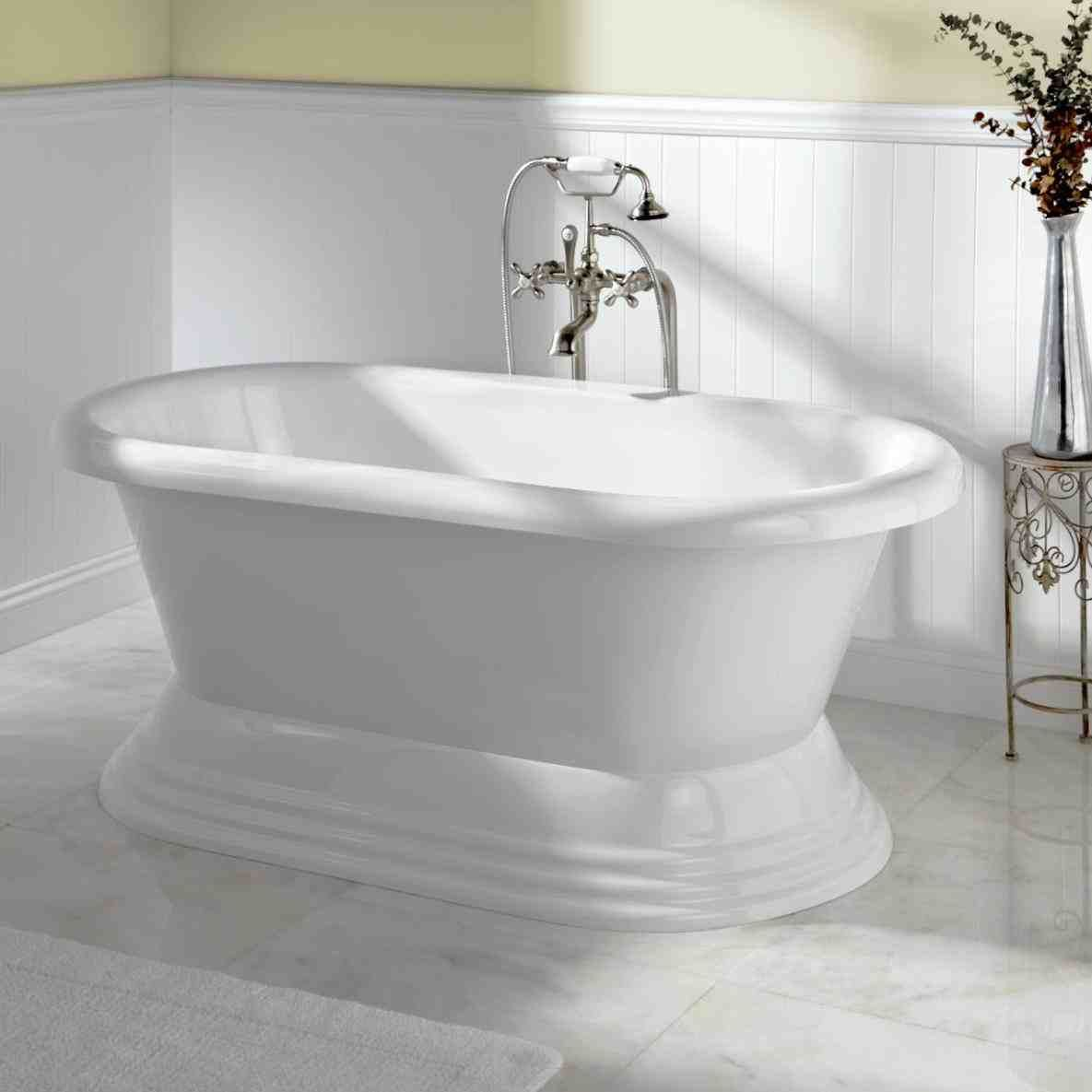 This freestanding soaker tubs - amazing acrylic clawfoot bathtubs 43 ...