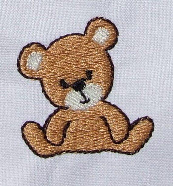 Best Brown Boy Teddy Bear Embroidery Patch
