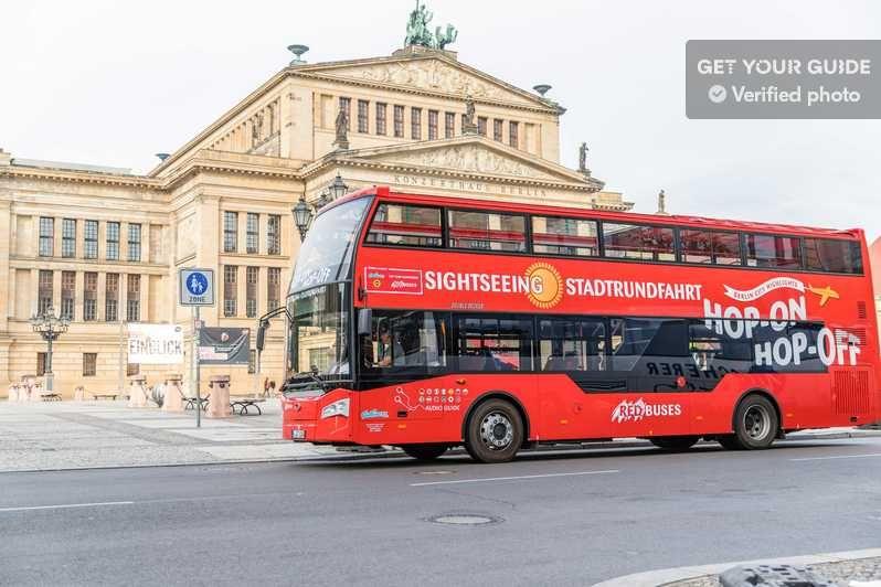 Berlin Tour Im Hop On Hop Off Sightseeingbus Boot Option Berlijn