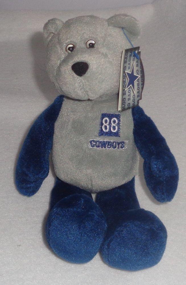Limited Treasures Pro Bear Michael Irvin Beanie Baby COWBOYS  DenverBroncos 342e5b17859