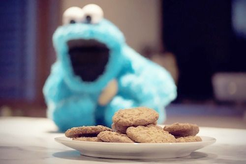 This is me and my cookies