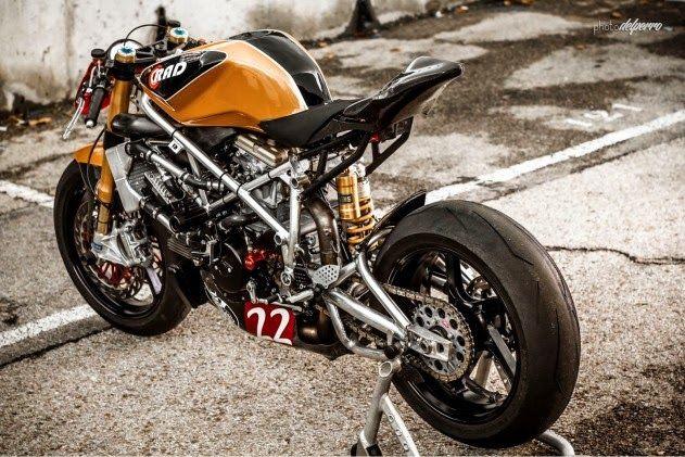 Radical Ducati  S.L.: Matador Racer in MOTORIVISTA