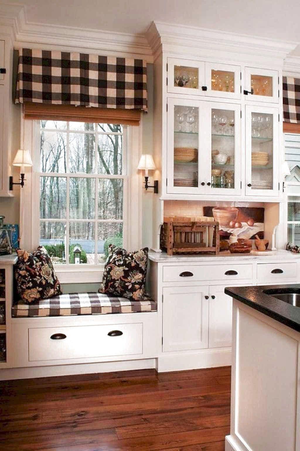9 Amazing Farmhouse Kitchen Curtains Decor Ideas 9 Amazing ...