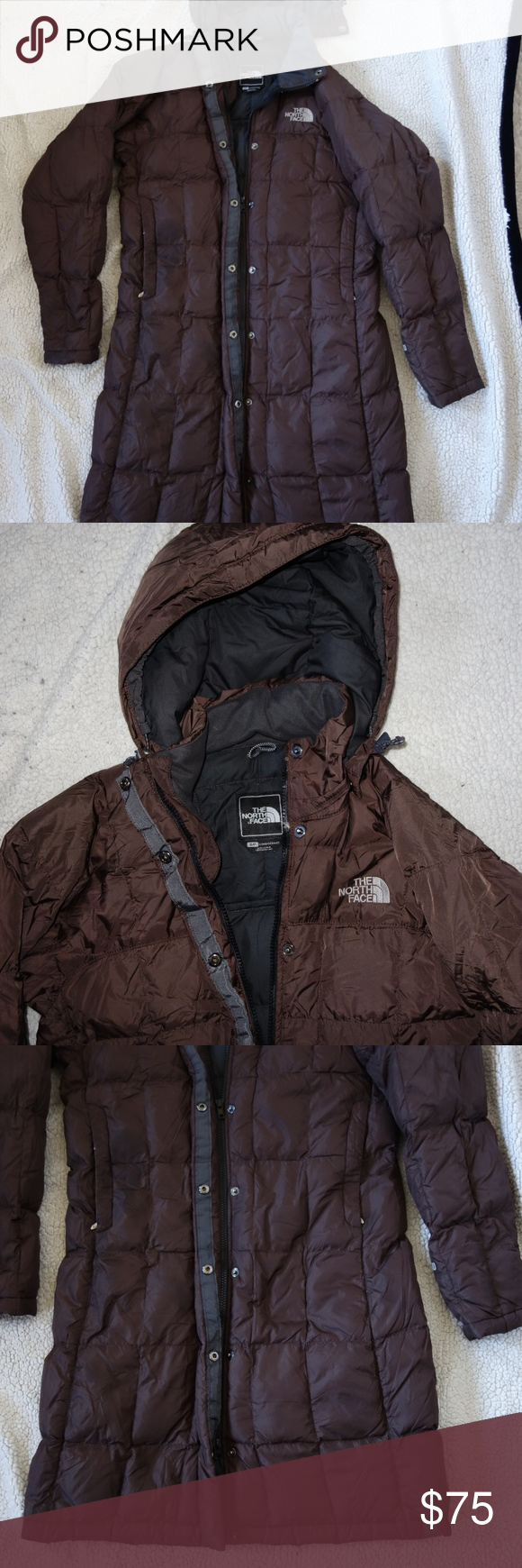 North Face Parka Long Brown Goose Down Puffer Coat North Face Parka Down Puffer Coat Puffer Coat [ 1740 x 580 Pixel ]