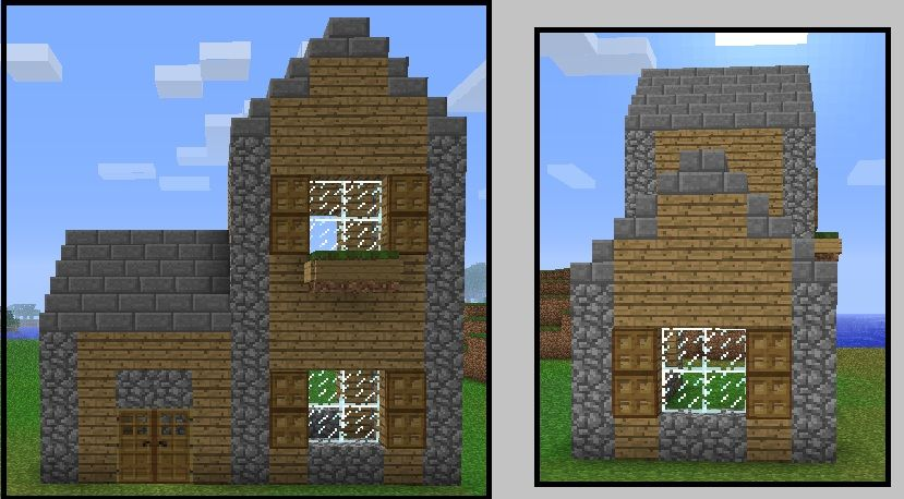 Architecture  Simple Minecraft House Step  Cute House With Small. Architecture  Simple Minecraft House Step  Cute House With Small