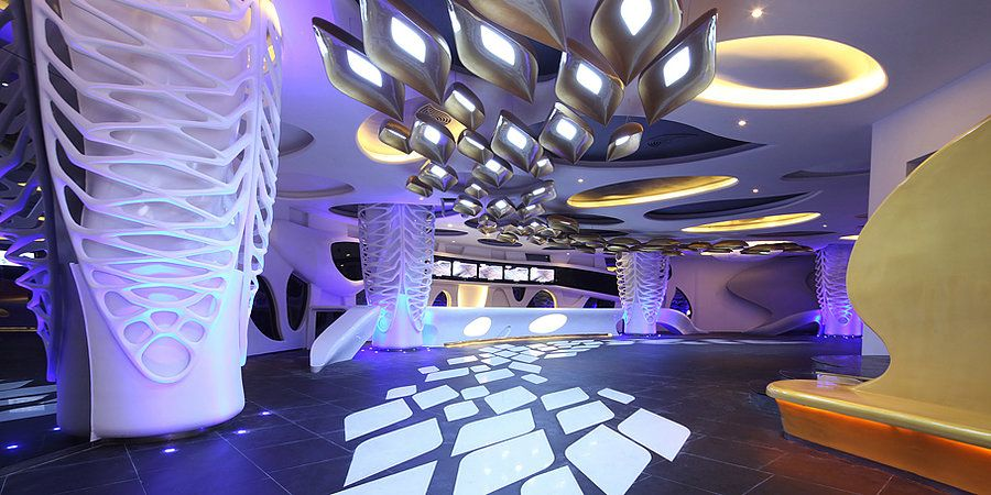 Avatar City By Alexander Wong Architects Cinema Futuristic