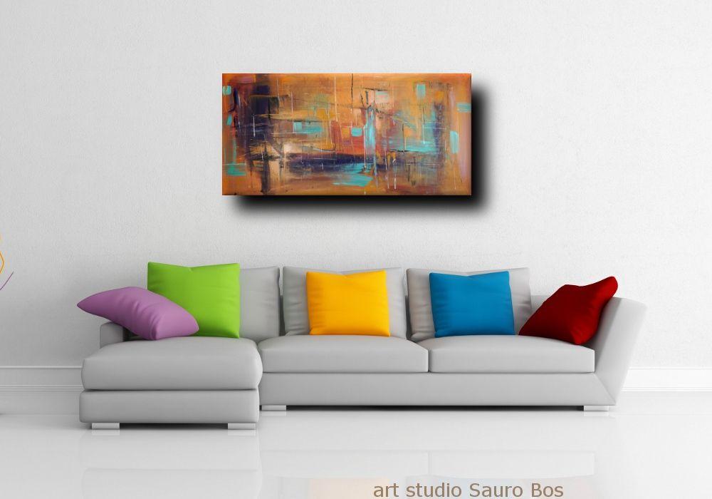 quadri-astratti-120x60-per-arredamento-moderno | Quadri ...
