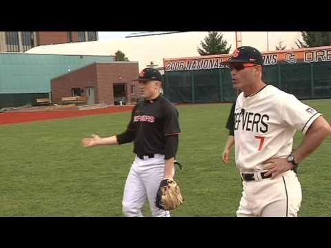 2011 Oregon State Baseball Webisode 1 Marty Lees Mic D Up For Infield Drills Youtube Baseball Oregon State Baseball Drills