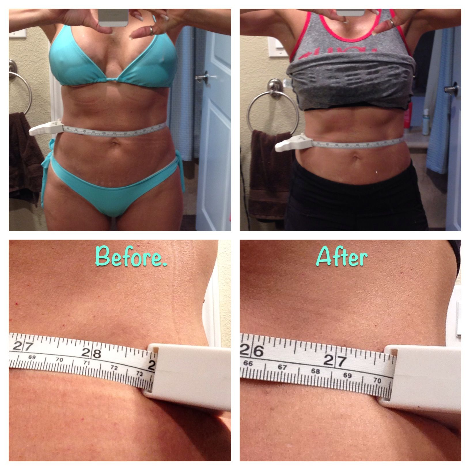 1 Week Results From Waist Training With The KJCOUTURE FAJA