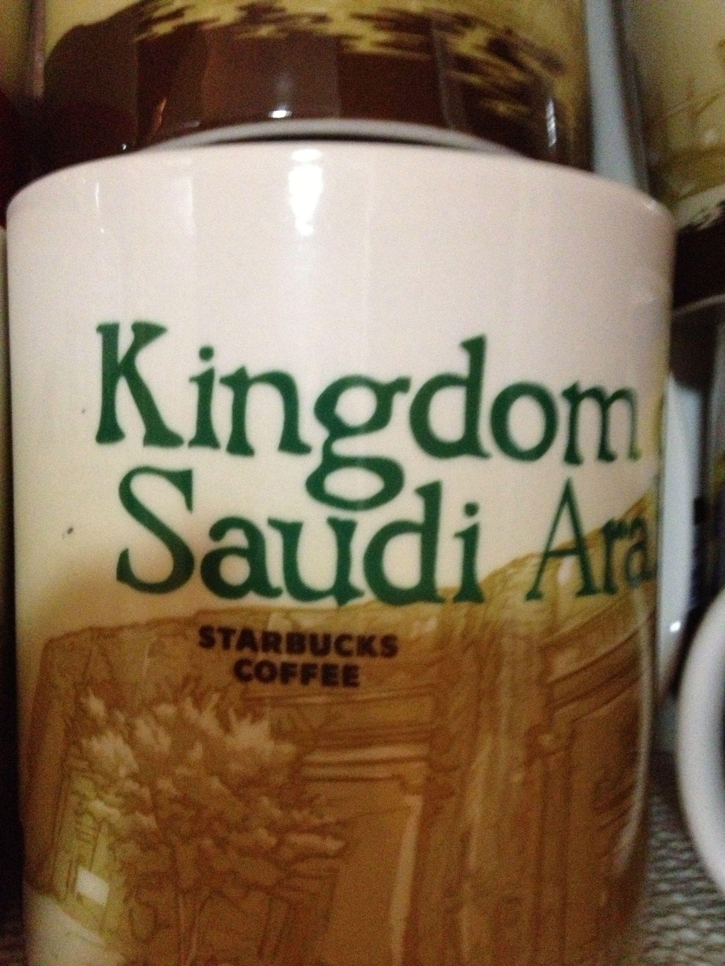 Kingdom Of Saudi Arabia Starbucks City Mugs My Starbucks Starbucks Coffee