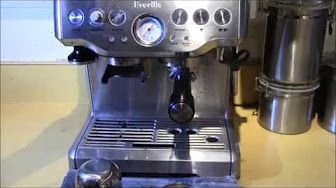 Make Yourself A Cup Of Espresso In Under A Minute With The Breville Barista Express Espresso Maker A Smart Accent To Espresso Best Coffee Maker Coffee Machine