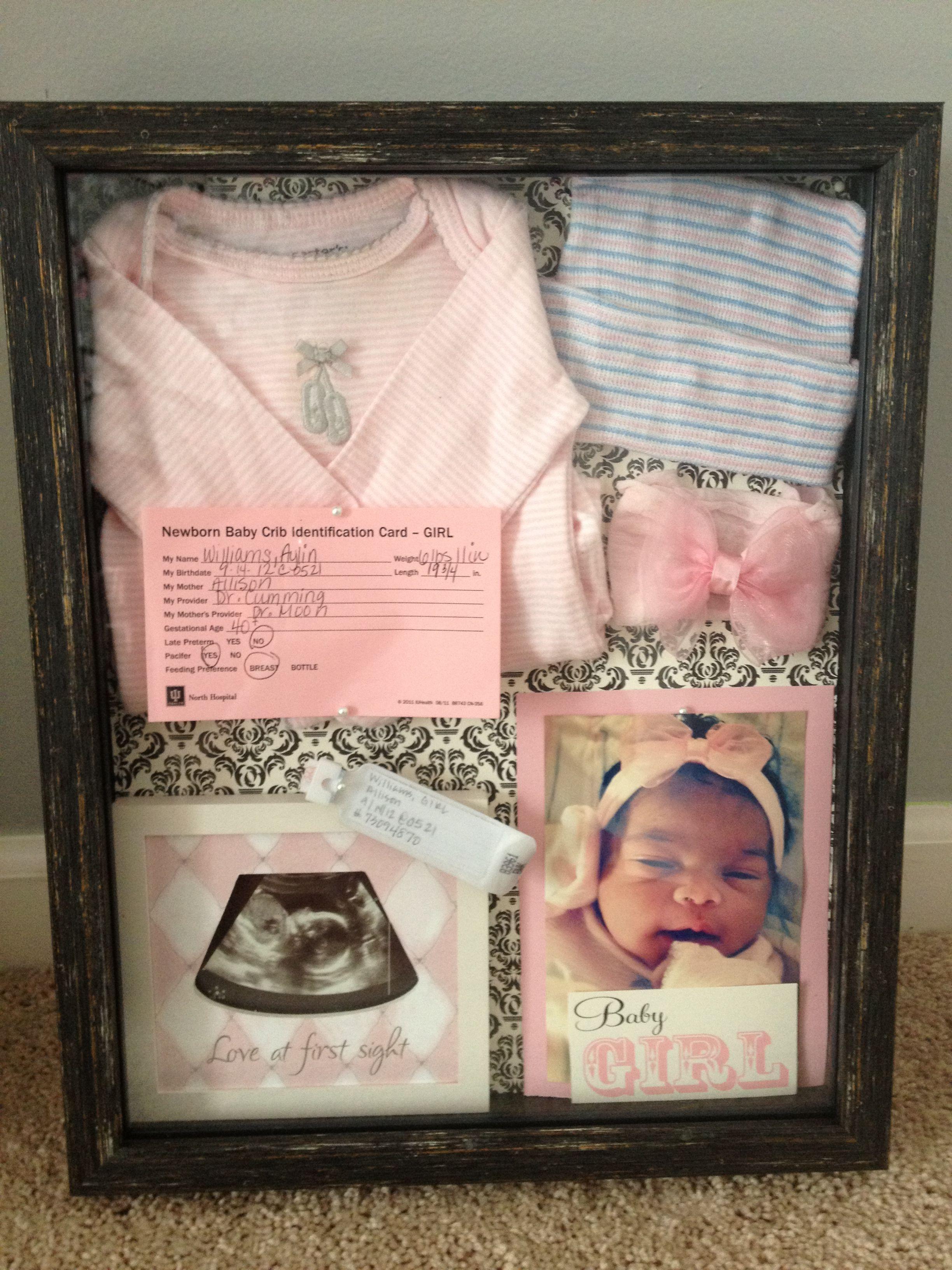 Baby Aylin\'s Shadow Box | linda | Pinterest | Dani, Babyparty und ...