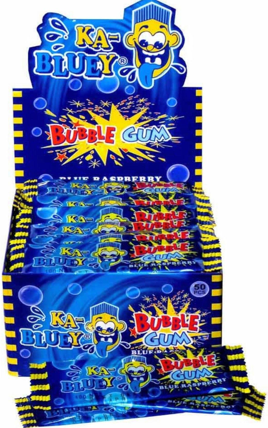 Ka Bluey Candy Bubble Gum Buble Gum Candy