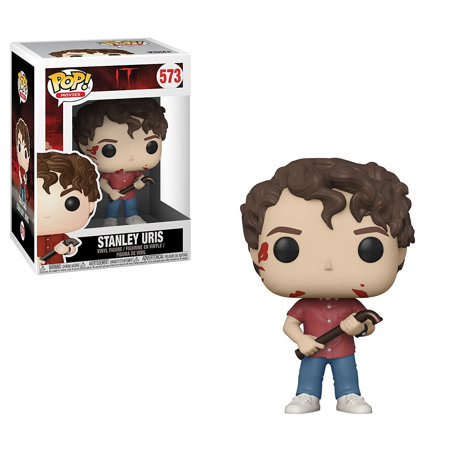 BRAND NEW IN BOX MIKE HANLON FROM IT POP MOVIES FUNKO VINYL # 572