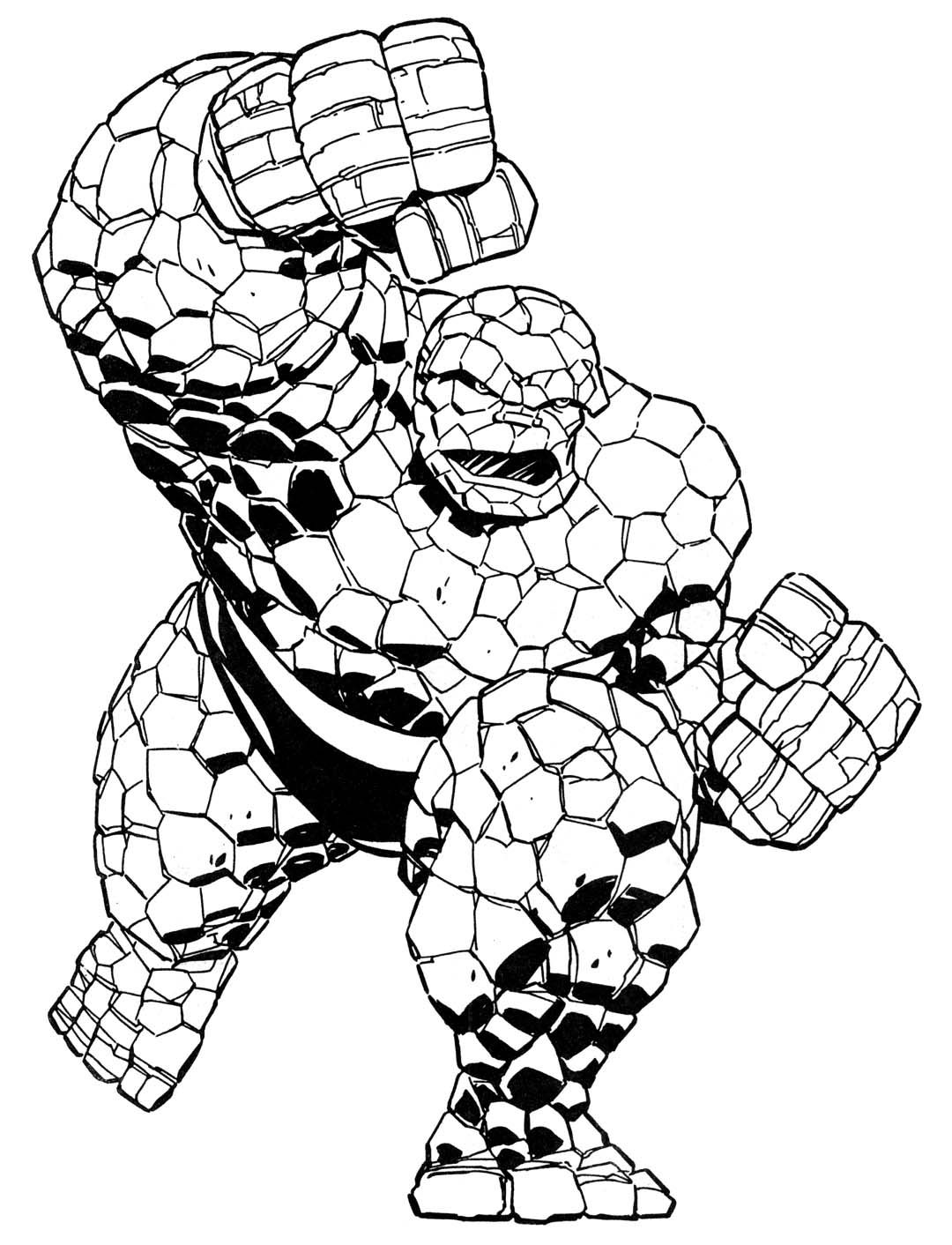Coloring Book Marvel Super Heroesmarvel Pages
