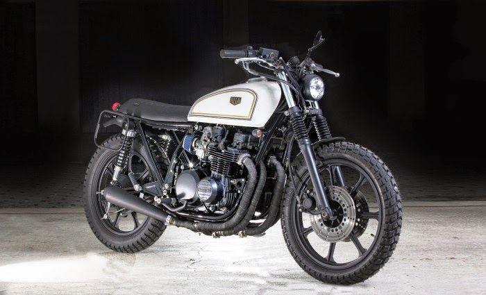 Milchapitas Kustom Bikes Kawasaki Z650 1982 By Rua Machines