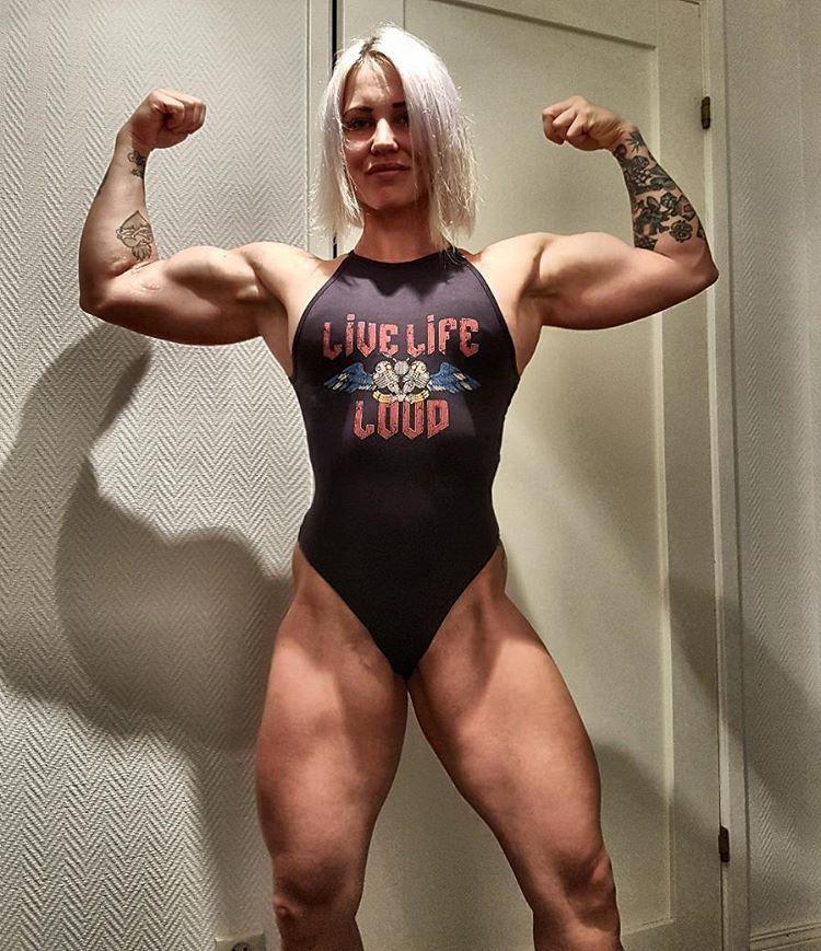 bodybuilder Heidi vuorela