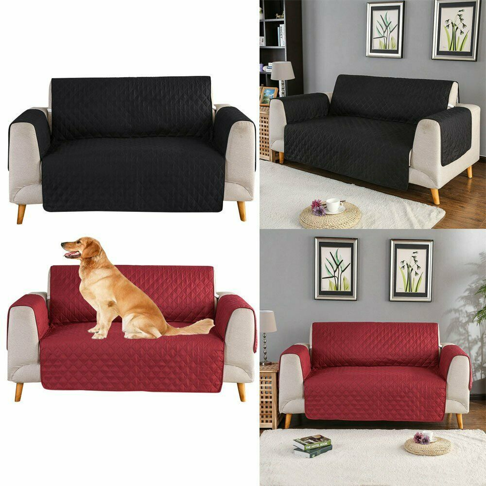 Waterproof Sofa Cover Reversible Couch Slipcover Furniture
