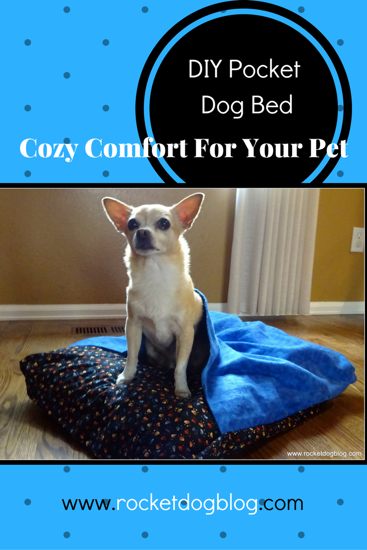 DIY Pocket Dog Bed Cozy Comfort For Your Pet (With