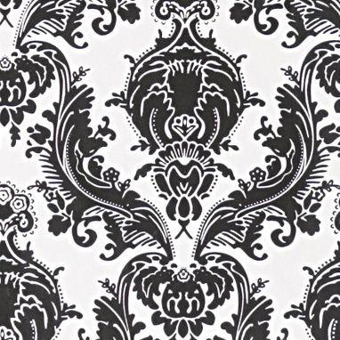 brocade home damask print wallpaper by AphroChic, via