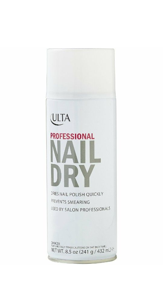 Ulta\'s Professional Nail Dry spray sets nail polish quickly to avoid ...
