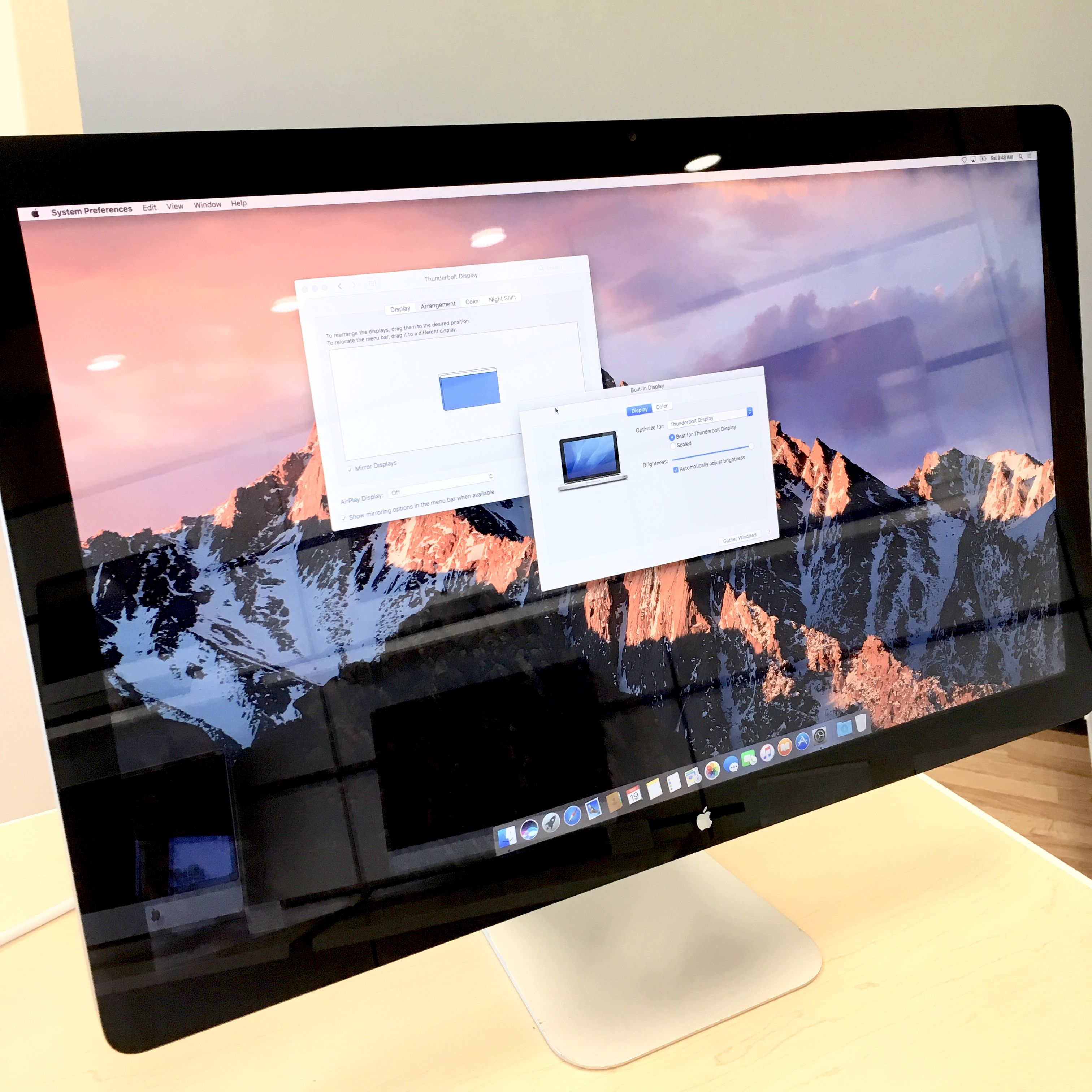 Apple 27 Thunderbolt Display Only 499 Built In Hd Facetime Camera Mic Speaker And Magsafe Charging Cable 2560 By Mac Mini Apple Products Magsafe