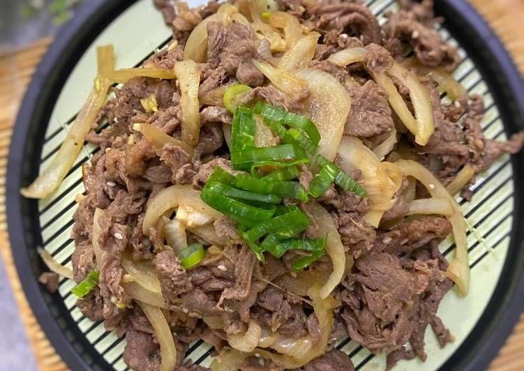 Resep Bulgogi Korean Style Bbq Beef Yang Berasa Di 2020