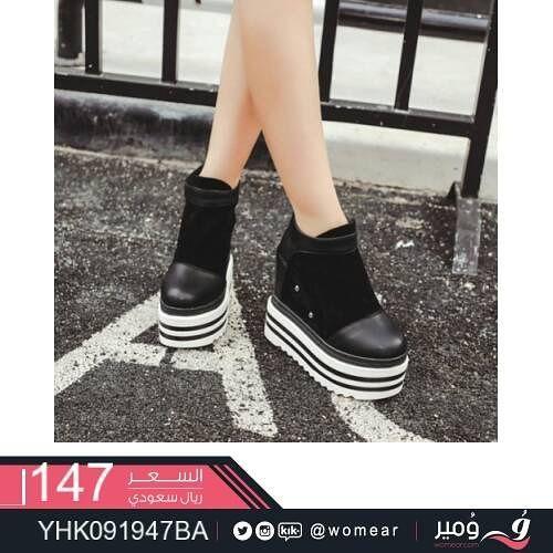 702bbf8df حذاء #عصري #كاجوال #احذية #نسائية #فاشون #موضة #شوزات #جزم #بنات ...